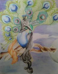 Peacocks by TheTexasJasmine