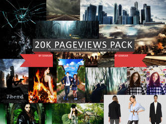 Happy 20k Pageviews Pack by semkar