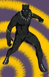 The King of Wakanda by tumiaus