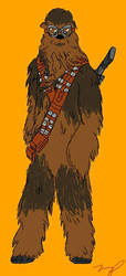 All hail the Wookie by tumiaus