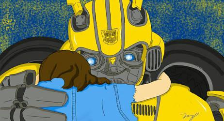 Hug the Bee by tumiaus