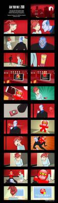 Storyboard - AIM Your way by PolishTamales