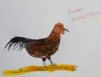 Rudolph the rooster by FreeSpirit29