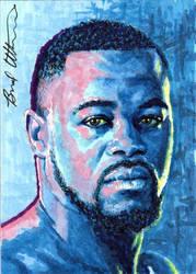 Rashad Evans sketch card by therealbradu