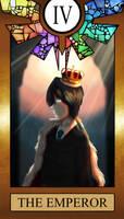 Otherside Tarot The Emperor by sukirai14