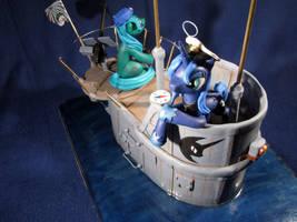 MLP - Princess Luna 'Das Boot...' 01 by Ksander-Zen