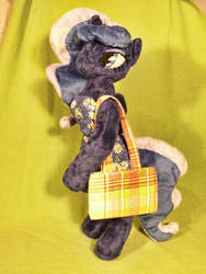 MLP - 'Princess Luna' (Plush, Anthro) by Ksander-Zen