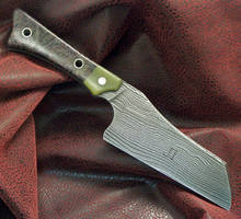 The Chefs Grim Cleaver by GageCustomKnives