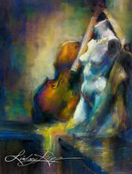 Cello Still Life by LindsayRapp