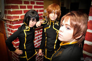 Lelouch, Suzaku and Roro - Code Geass by Chess28