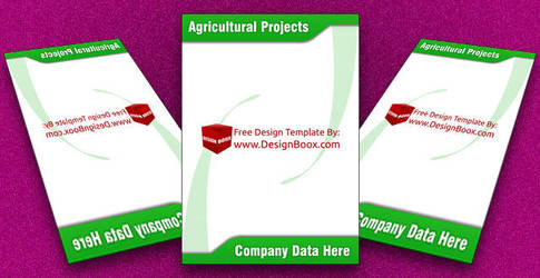 Agricultural Projects Green Letterhead future imag by DesignBoox
