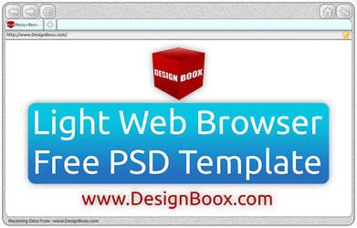 LightWebBrowserTemplate by DesignBoox