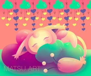 Skitty Fan Art by Matousu