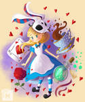 Alice in Wonderland by Matousu
