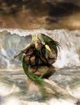AryaArt:27 Drama on high sea by AryaArt