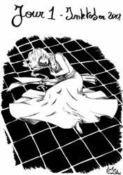 [INKtober 2018] Day 1 - Saphir by MaelysTremblay