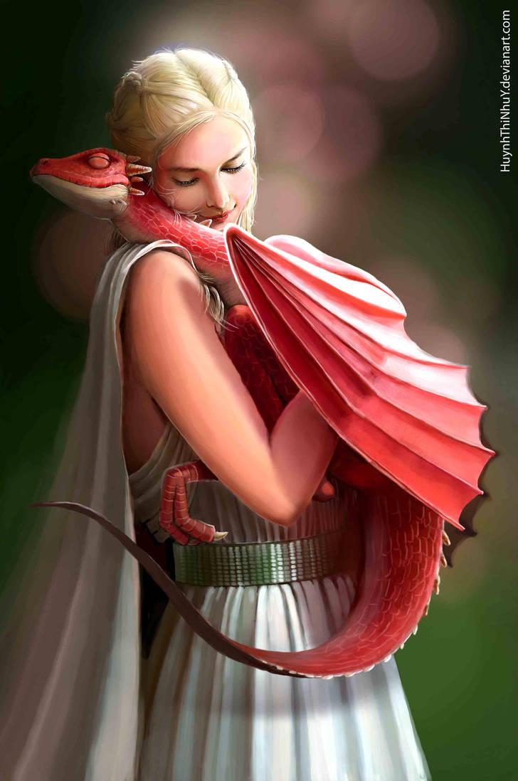 Mother of dragon by NhacuaDau