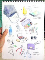 My handbag by NhacuaDau