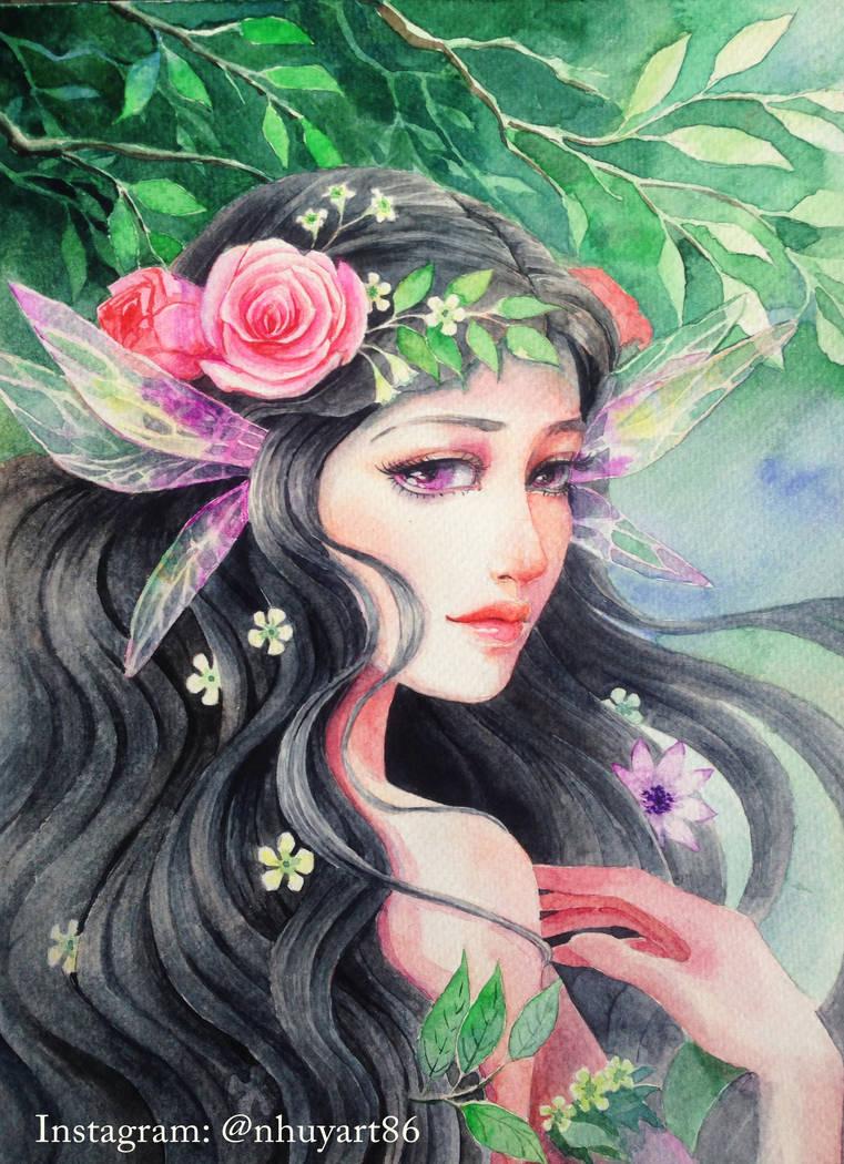 Forest spirit by NhacuaDau