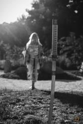 Samurai Girl - Catleen Cosplay by SuperStudio8