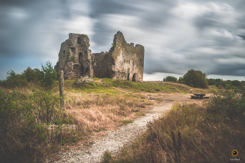 Long Exposure - Estonian ruins by SuperStudio8