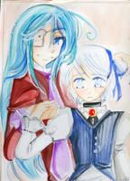 Sho and Fubuki by sakura02