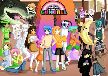 The Amazing World of Gumball anime verison by sakura02
