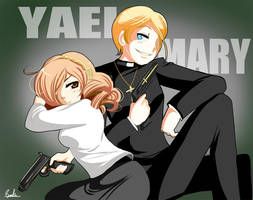Mary and Yael by sakura02