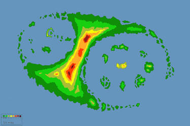Topographical Map of Iluig by SexualEmo