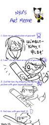 Nyu's Art Meme by kyubikitsy