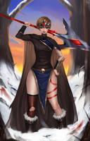 Huntress by RattlePool