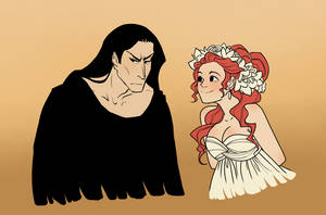 Hades and Persephone by Eupraxia
