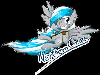 Comission Badge Northern Cross by Kiyoshiii