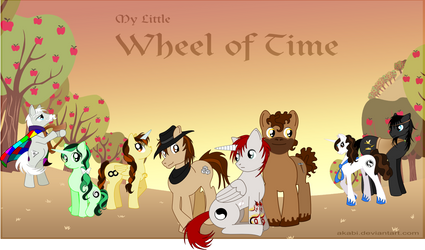 My Little Wheel of Time by Akabi