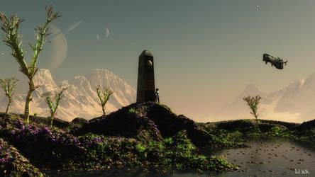 Der Obelisk by wolfen11