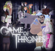 Game of... Disney Princesses by Nimoue