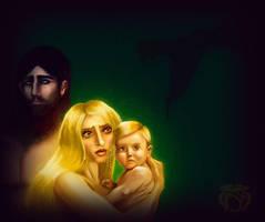 Persephone and Zagreus by Nimoue