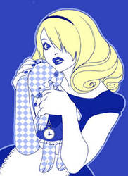 Blue Alice by zimra-art