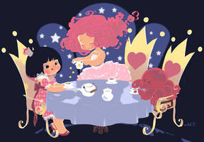 Star Tea by zimra-art
