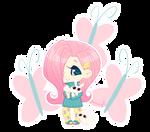 MLP Gijinka: Fluttershy by zimra-art