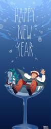 Bubbly New Year ! by zimra-art