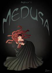 B-DAY GIFT: Medusa for Angilram by zimra-art