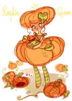 Pumpkin Queen by zimra-art