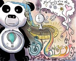 Meh panda  by Flyinfrogg