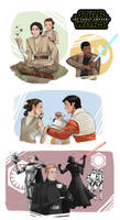 Star Wars The Force Awakens by Milady666