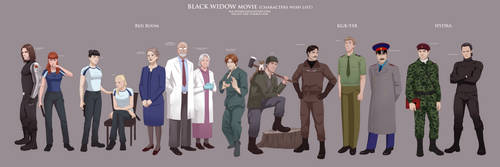 Black Widow movie_characters wish list by Milady666