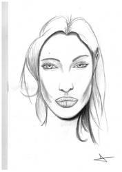 Angelina Jolie by davemcg65