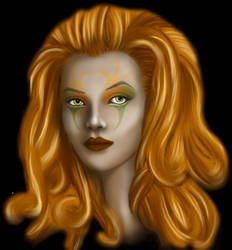 Ginger witch by GingerLilys