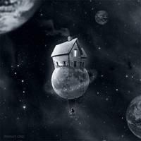 My little moon by manurs