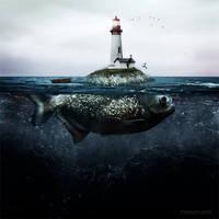 Lighthouse island by manurs